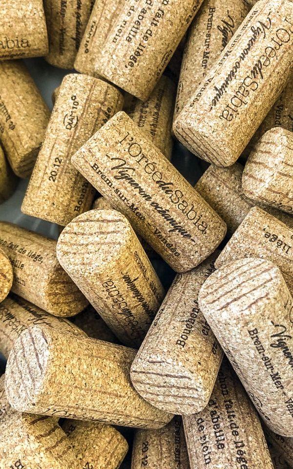 Bouchons de vin en vrac - L'Orée du Sabia