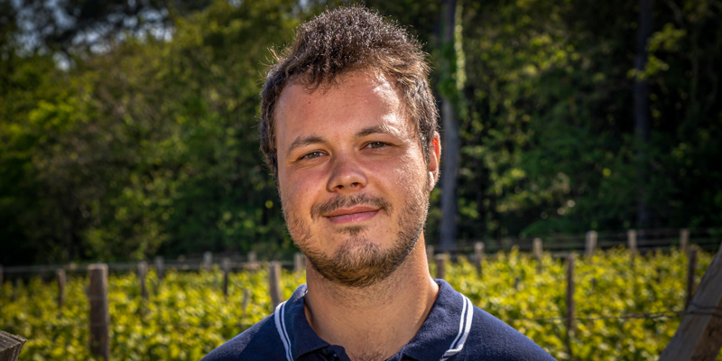Julien Vigneron à l'Orée du Sabia